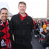 UofL Soccer Head Coach Ken Lolla and Director of Soccer Operations David Horne.