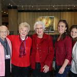 Bonnie Zepka, Bettie Gorman, Yvonne Seibert, Elizabeth and Rebekah Whiteley.