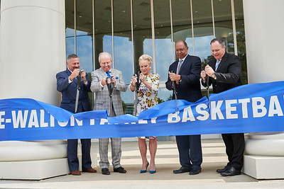 ATH MBB Laurie-Walton Basketball Practice Center Ribbon Cutting Ceremony