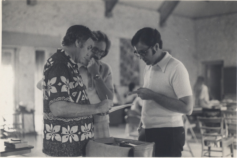 Loren with Paul Hawkins and Dean Sherman