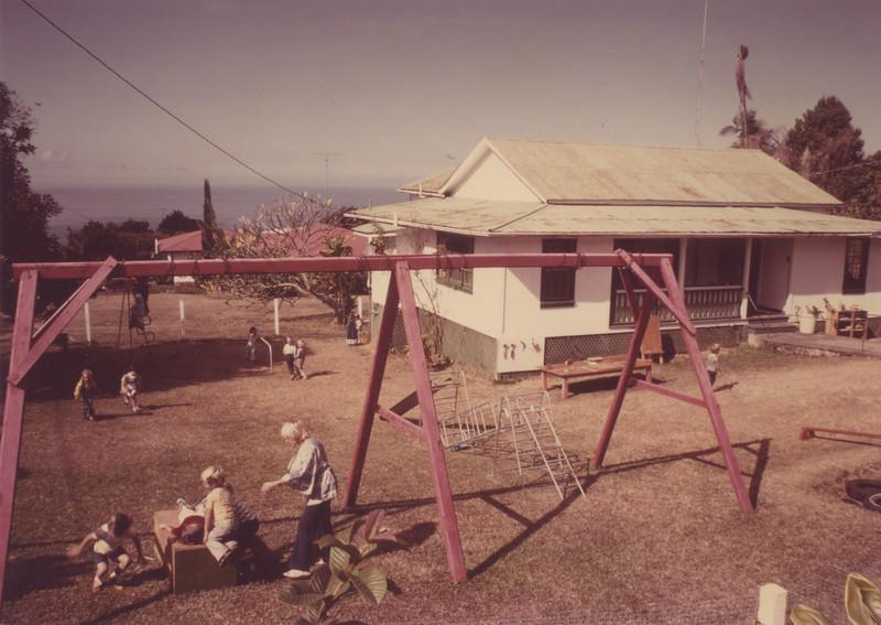 YWAM's first preschool -North  Jan Jones the Director