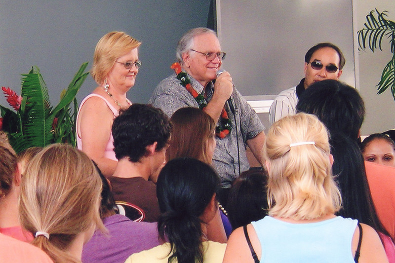 Cunninghams speak at Compassion DTS in Oct 2006
