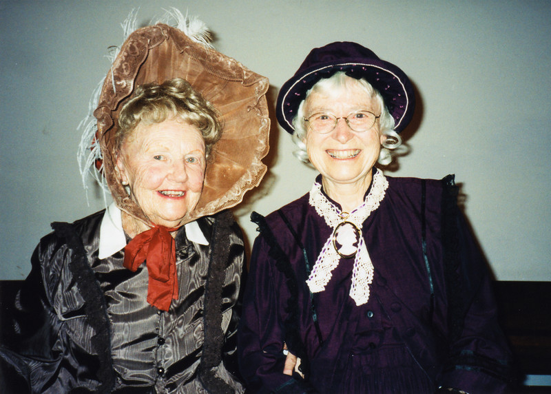 Enid Scratch and Margaret Feaver