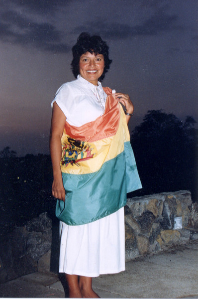 Esther Rodriguez - from Bolivia.  Graduated 2001AA in ECE