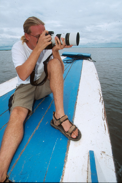 Jonathan Thrasher, NMT photographer, on assignment in Philippines