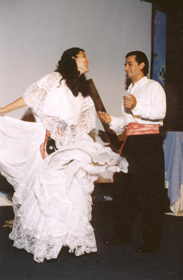 Dance in pavilion  Mauricio & ?