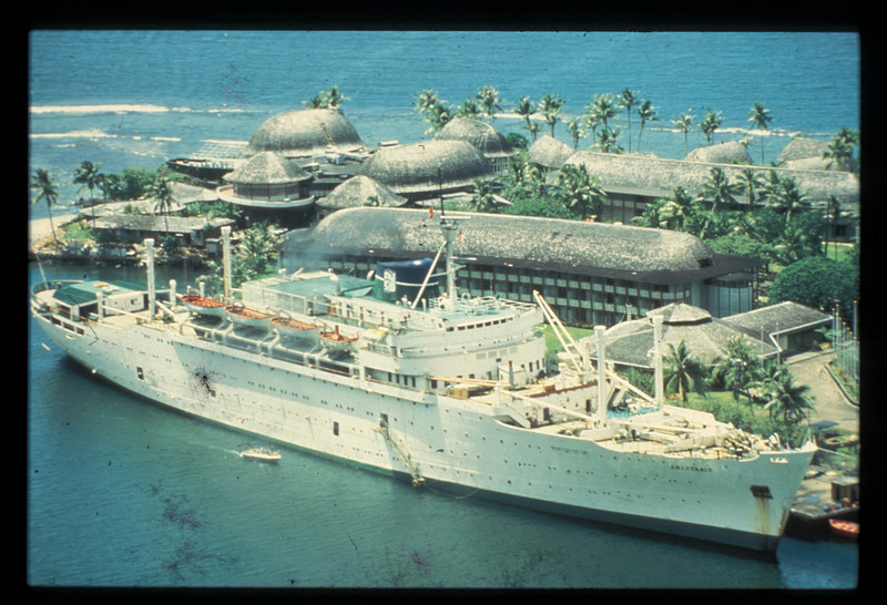 Anastasis in Pago Pago American Samoa 1983
