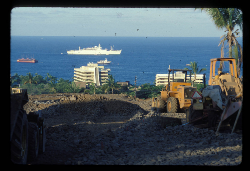 M/V Anastasis visits Hawaiian Islands 1983 after NZ and Pacific Island Outreach