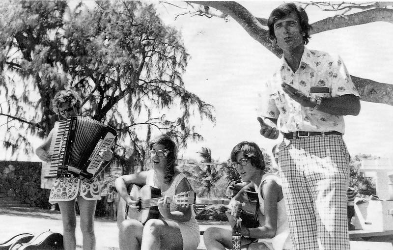 Alan  Williams at Kailua pier