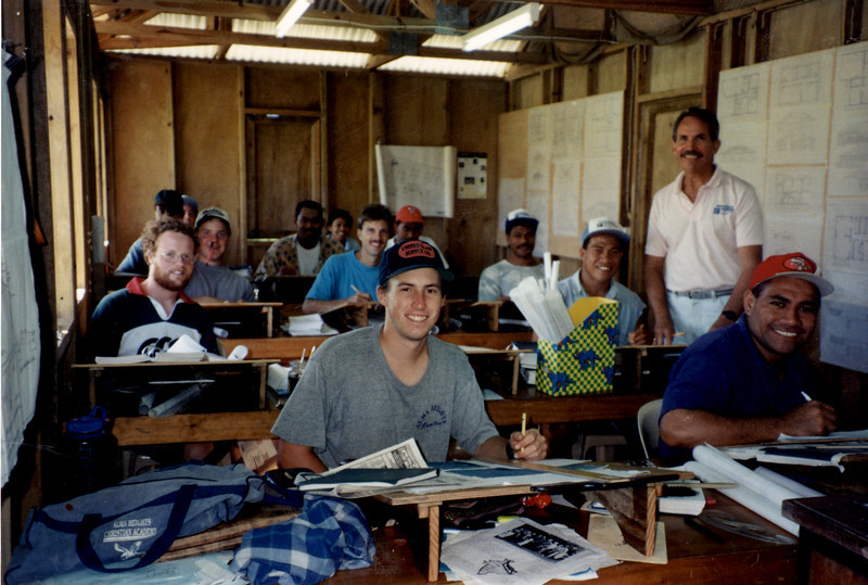 Gary Westover  Construction school U of N Tonga