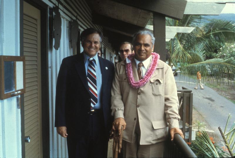 Prince Tuipelehaki, Prime Minister of Tonga circa 1980?