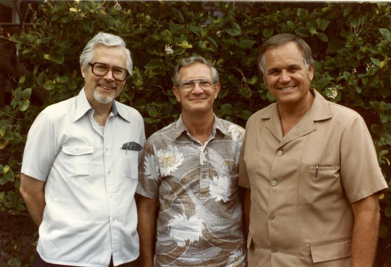 LtoR Jim Miller, Howard Malmstadt, Loren