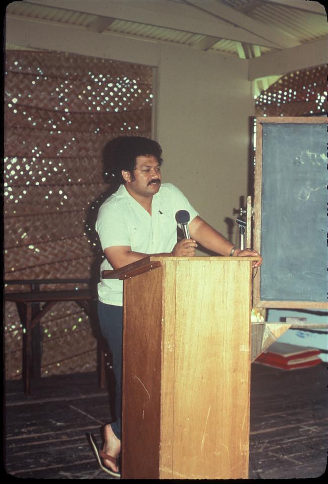 Kalafi Moala in Pavilion