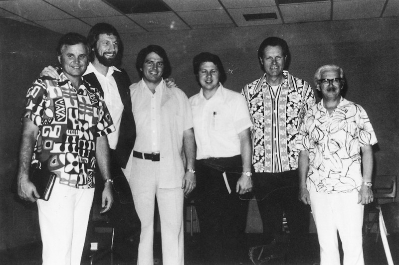 Loren, Floyd McClung, Don Stephens, Jim Dawson, Wally Wenge, Jim Rogers