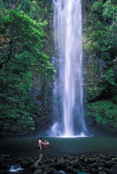 Maui.  Falls.