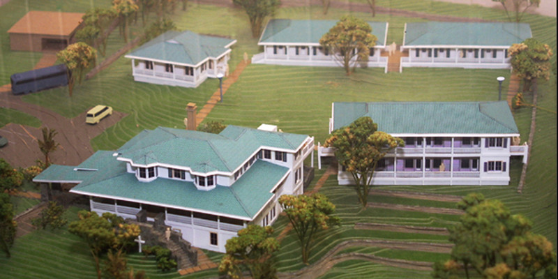 Model of Kings Mansion