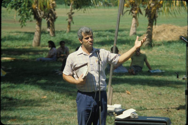 Joe Portale preaching