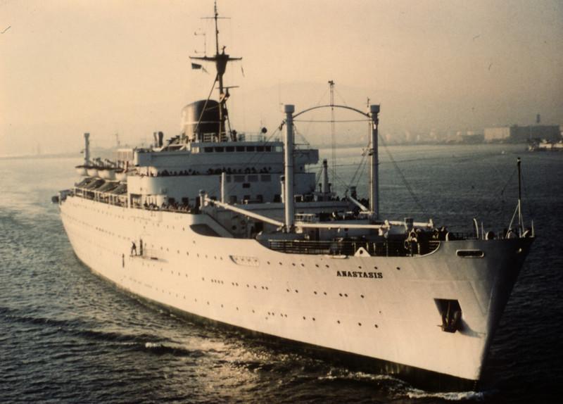A Ship to Serve The Nations. M/V Anastasis