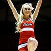 U of U WBB vs San Diego NIT RD 2    3-25-2013. Cheerleaders
