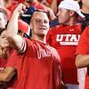 University of Utah vs Michigan on 09-03-2015 at Rice-Eccles Stadium. The Utes defeat the Wolverines 24-17. #goutes, #utahfootball, #uofu    ©2015   Bryan Byerly