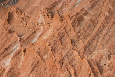 Sandstone formations at Fire Wave.