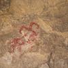 Petroglyph along the Barker Dam Trail.