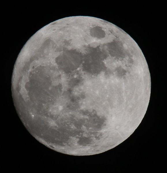 Moon on 27Apr2010, technically full moon is not until 28Apr2010.