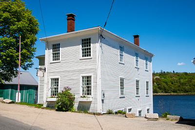 The Gates House, one of the few restored seafaring houses along the Macias river, 1810.