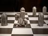 Knight takes Pawn