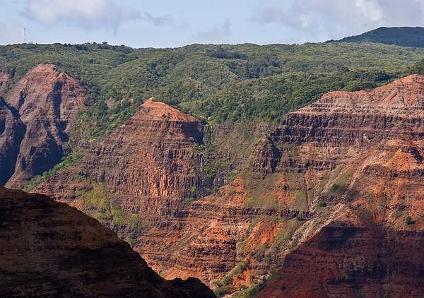 Waimea Canyon, west Kaua'i.