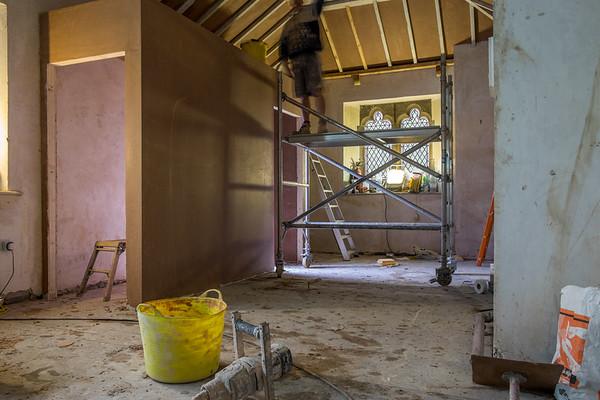 Update of work on the vestry