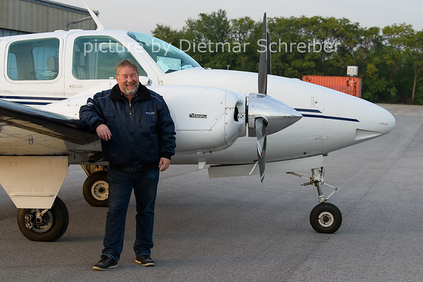 2020-10-21 D-IFMV Beech Baron