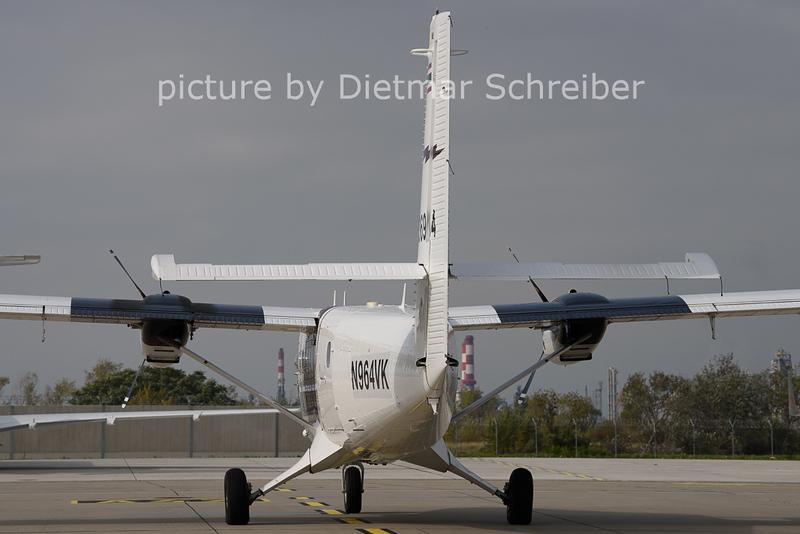 2020-10-21 N964VK / 36964 Twin Otter Thai Police