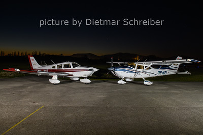 2020-11-07 OE-DOL Piper 28 / OE-KFI Cessna 182