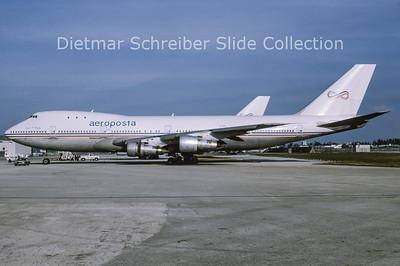 1993-03 N747PA Boeing 747-121A (c/n 19639) Aeroposta