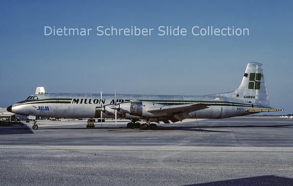 N907L Canadair CL44D4-4 (c/n 27) Millon Air