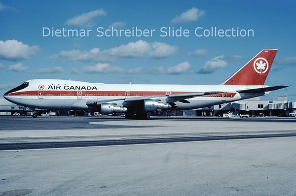 1980-01 CF-TOD Boeing 747-133 (c/n 20767) Air Canada