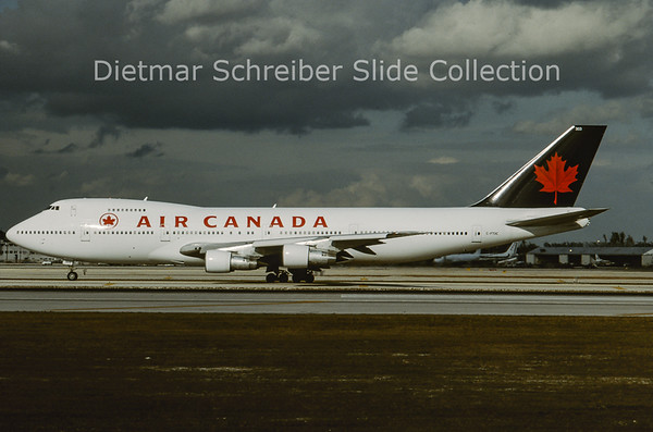 1994-01 C-FTOC Boeing 747-133 (c/n 20015) Air Canada