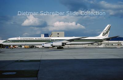 N819EV Douglas DC8-63F (c/n 46126) Evergreen