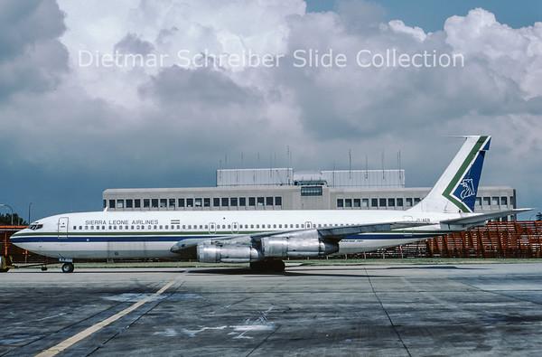 1986-08 JY-AEB Boeing 707-384C (c/n 18948) Sierra Leone Airlines