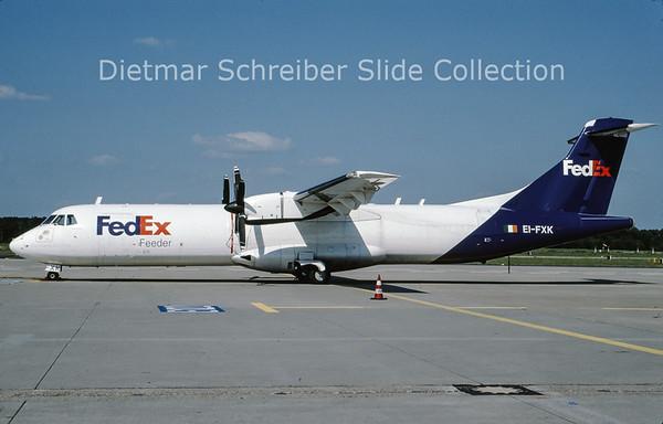 2009-06 EI-FXK ATR72-202 (c/n 256) Air Contractors