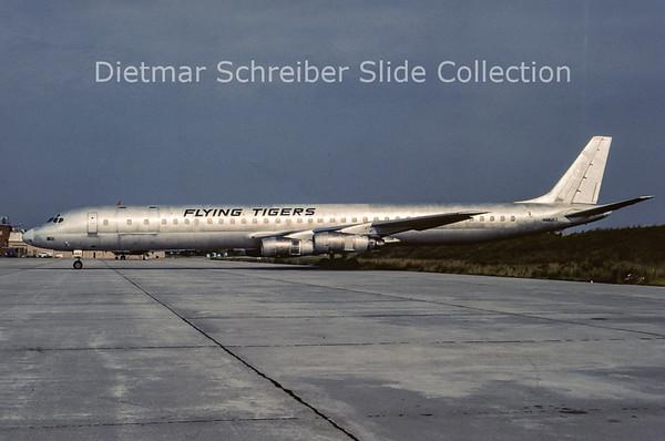 1985-01 N862FT Douglas DC8-60 Flying Tigers