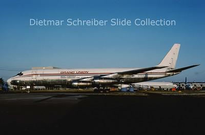1986-02 N718UA Douglas DC8-33F (c/n 45384) Grand Union