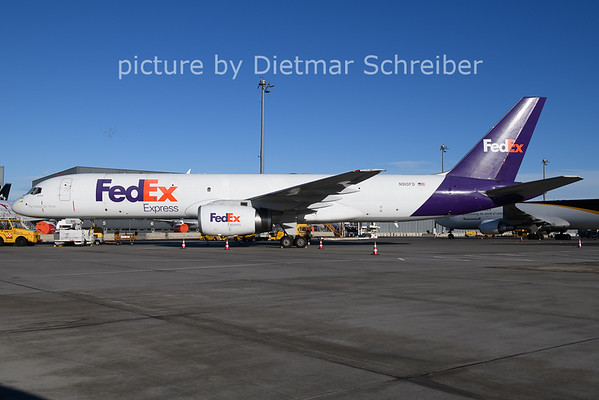 2021-01-22 N910FD Boeing 757-200 Fedex