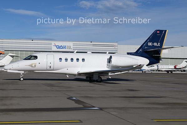 2021-01-22 OE-GLC Cessna 680A Goldeckflug
