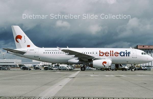 2009-05 F-HBAD Airbus A320-233 (c/n 561) Belle Air
