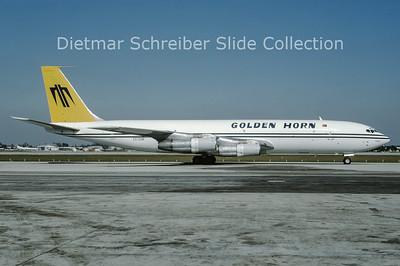 1993-12 CC-CUE Boeing 707-331C (c/n 20069) Golden Horn