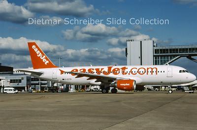 2009-04 G-EZTB Airbus A320-214 (c/n 3843) Easyjet
