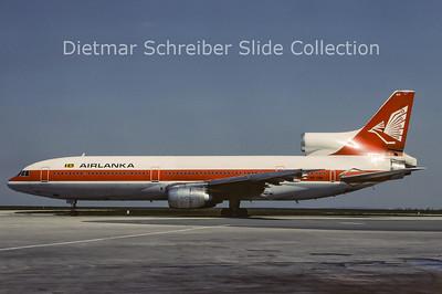 1982-04 4R-TNK Lockheed L1011-1 Tristar (c/n 1069) Air Lanka
