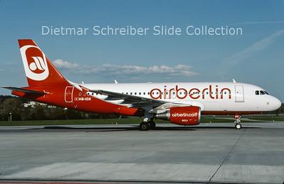 2009-04 HB-IOX Airbus A319-112 (c/n 3604) Air Berlin
